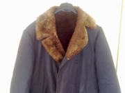 Пальто на меху овчины обыкновенной