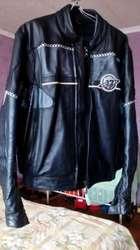 Байкерская мужская куртка