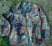 Бельгийская военная камуфляжная куртка ВВС (flecktarn) - настоящая